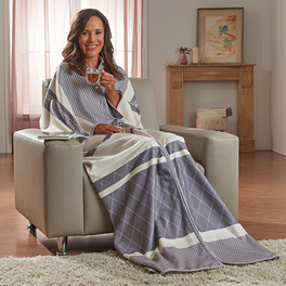 Robe de chambre, gris