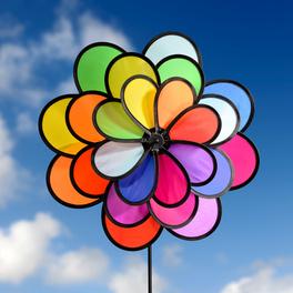 """Roue à vent """"Fleur"""""""