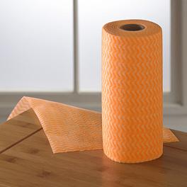 Rouleau de 50 chiffons, orange