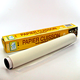 Rouleau de papier cuisson