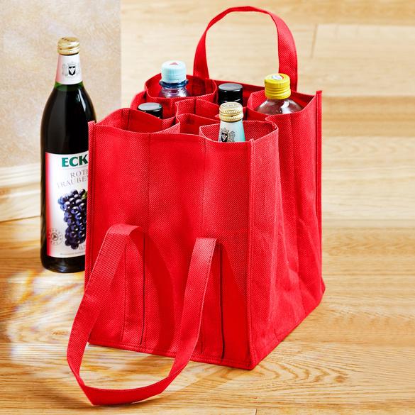 Sac à bouteilles, rouge