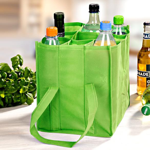 Sac à bouteilles, vert