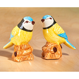 Salière et poivrière, Oiseaux
