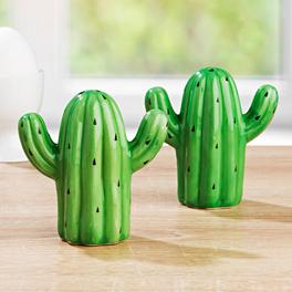 Salière + poivrière Cactus