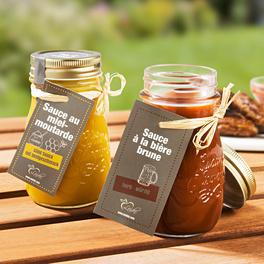 Sauce miel-moutarde