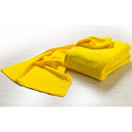 Serviette en microfibre, jaune