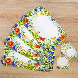 Sets de table Fleurs sauvages