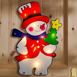 Suspension lumineuse, Bonhomme de neige