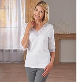 T-shirt confortable, blanc
