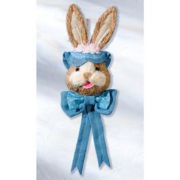 Tête de lapin à chapeau, bleu