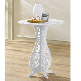 Table d'appoint, blanc