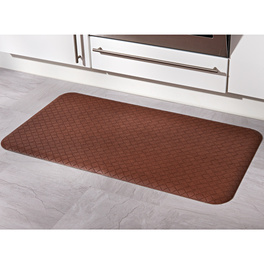 Tapis anti-fatigue, aspect tressé
