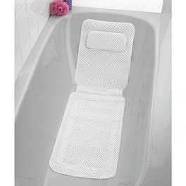 Tapis de baignoire confort, blanc