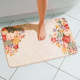 Tapis de bain Fleurs