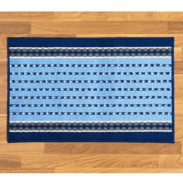 Tapis de cuisine 50x80cm, bleu