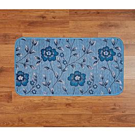 Tapis de cuisine 50x90cm, bleu