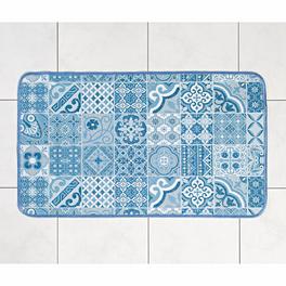 Tapis de cuisine 54x90 cm, bleu