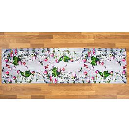 Tapis de cuisine Fleurs 52x190cm