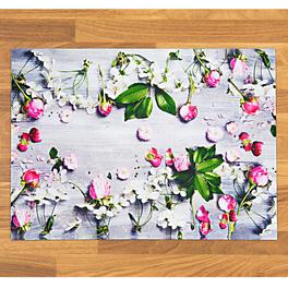 Tapis de cuisine Fleurs 52x70cm