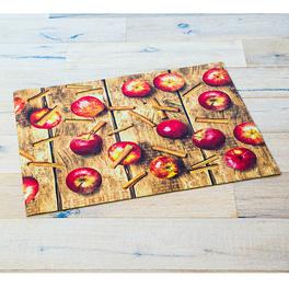 Tapis de cuisine Pommes 52x70cm