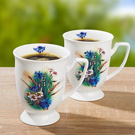 Tasse bleuet
