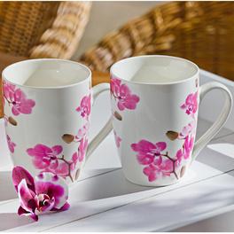 """Tasse à café """"Orchidée"""""""