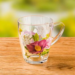 Tasse en verre Flower