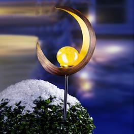 Tige solaire LED Lune