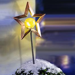 Tige solaire LED Étoile