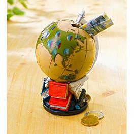 Tirelire Globe