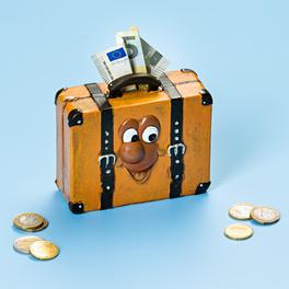 Tirelire-valise