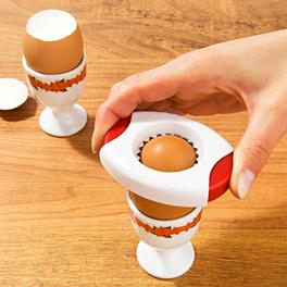 Toqueur  à œuf, route/blanc
