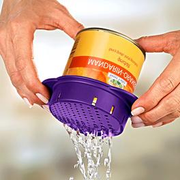 Égouttoir à conserves, violet