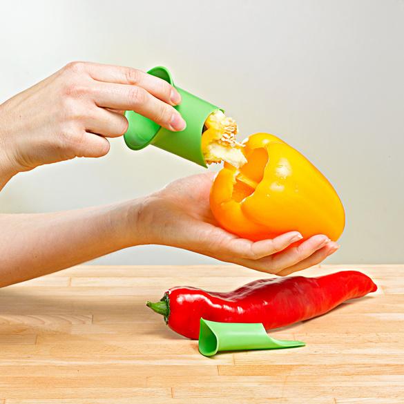 Évidoir à poivron