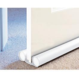 boudin de porte, blanc, 80 cm