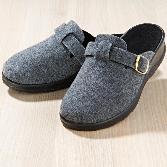 Mules, gris