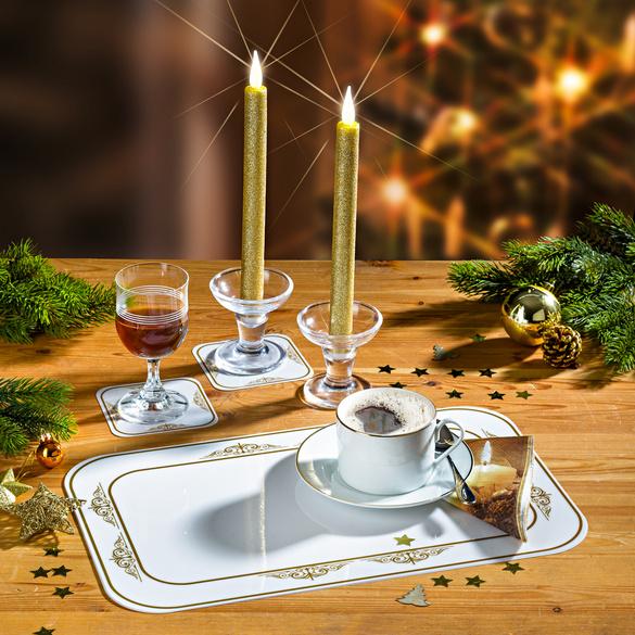 Sets de table Arabesque, 12 pièces