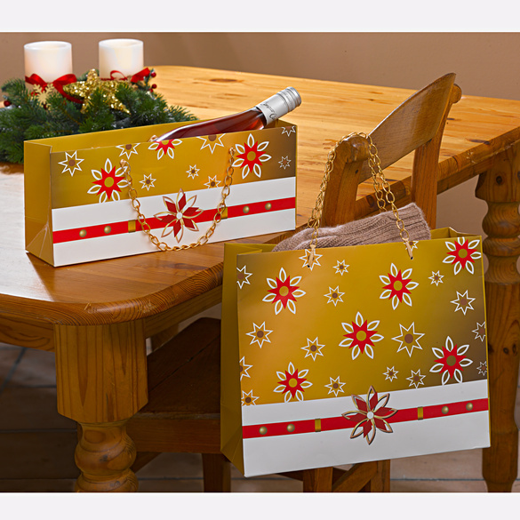 Lot de 2 pochettes cadeau