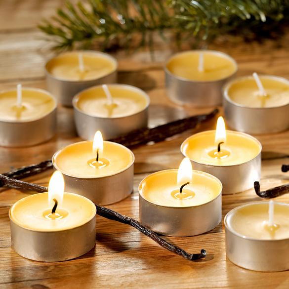 6bougies chauffe-plat parfumées Vanille