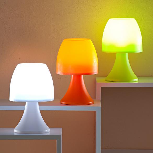 Lampe à poser 6LED, blanc