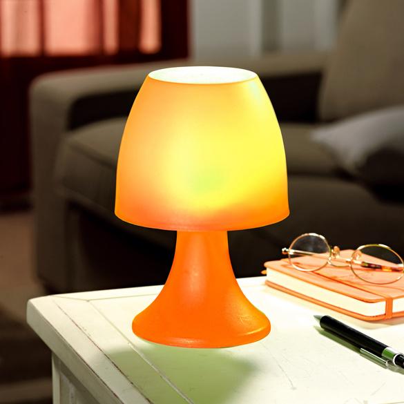 Lampe à poser 6LED, orange