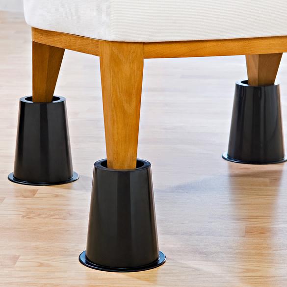 pieds rehausseurs de lit rond vitrine magique. Black Bedroom Furniture Sets. Home Design Ideas