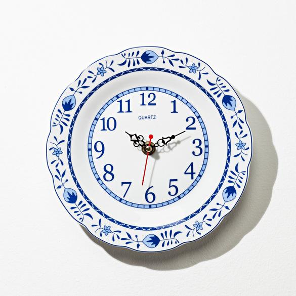 Horloge de cuisine motif ancien