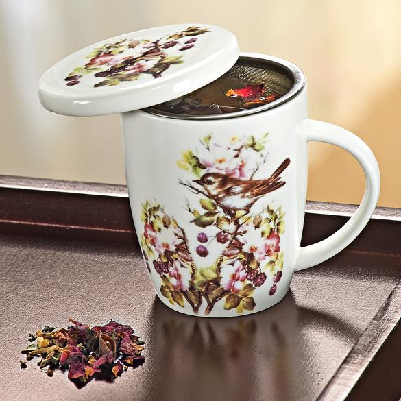 tasse th avec filtre vitrine magique. Black Bedroom Furniture Sets. Home Design Ideas