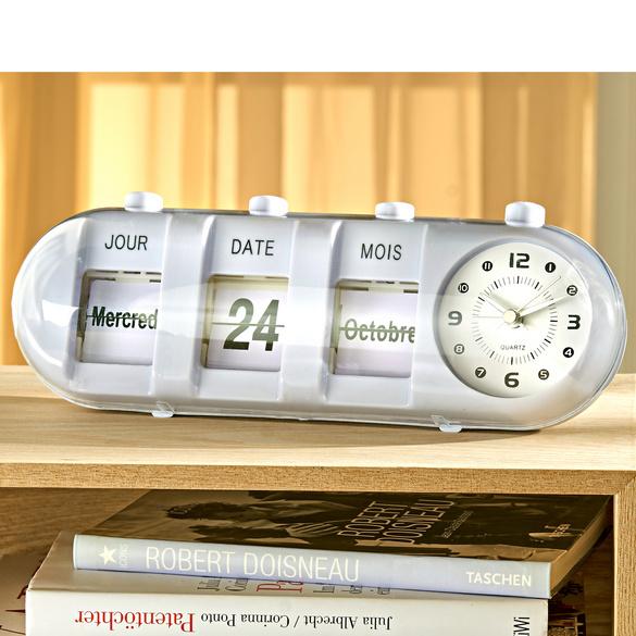 Horloge Avec Calendrier Vitrine Magique