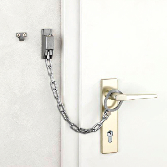 Chaîne de porte verrouillable