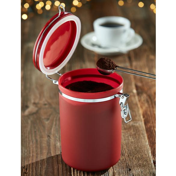 Boîte à café, rouge