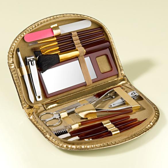 Kit de manucure/maquillage, 19pièces