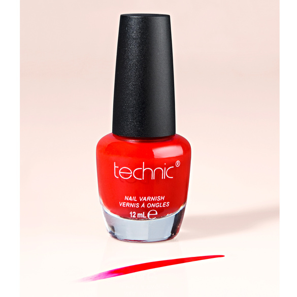 Vernis à ongles, rouge