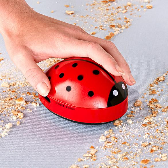 Coccinelle anti-miettes à pile